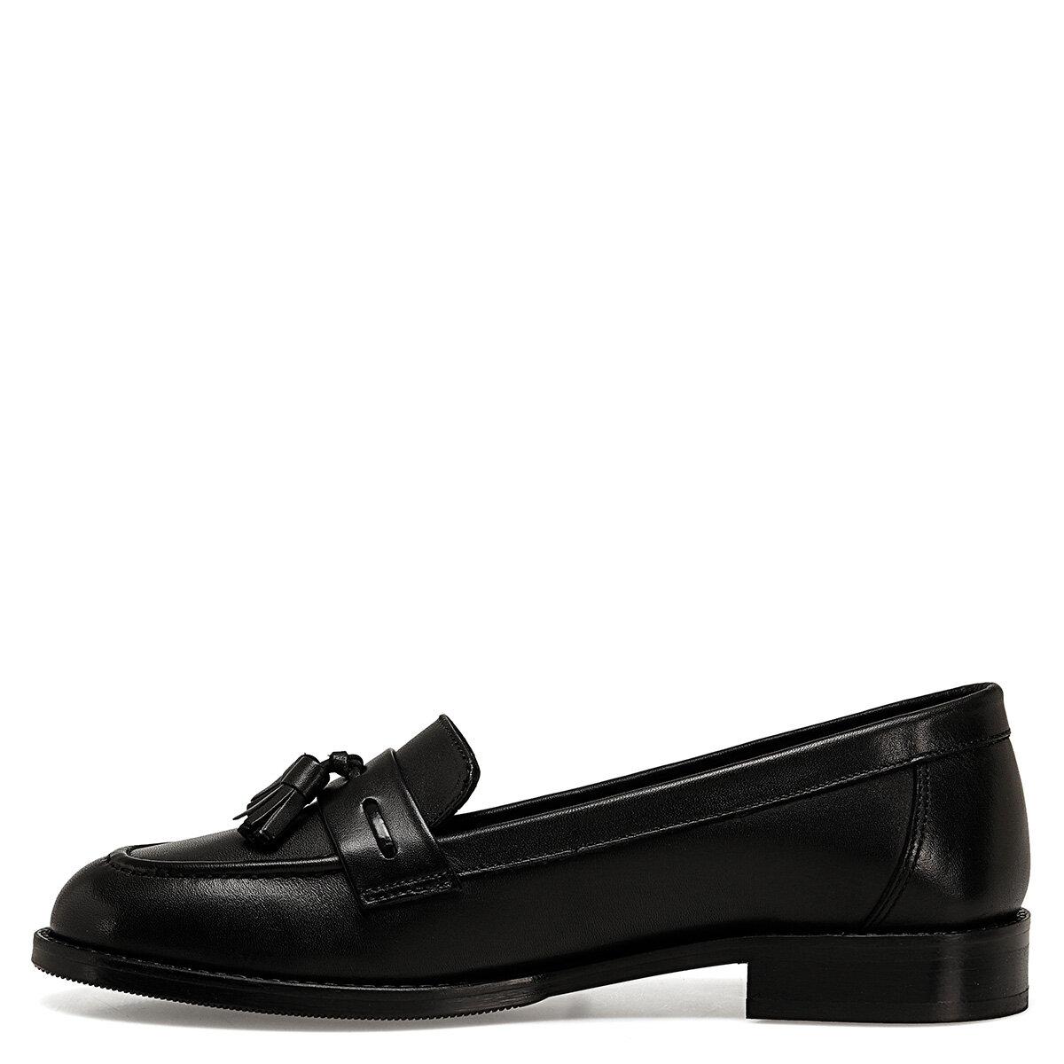HOGAN Siyah Kadın Loafer Ayakkabı