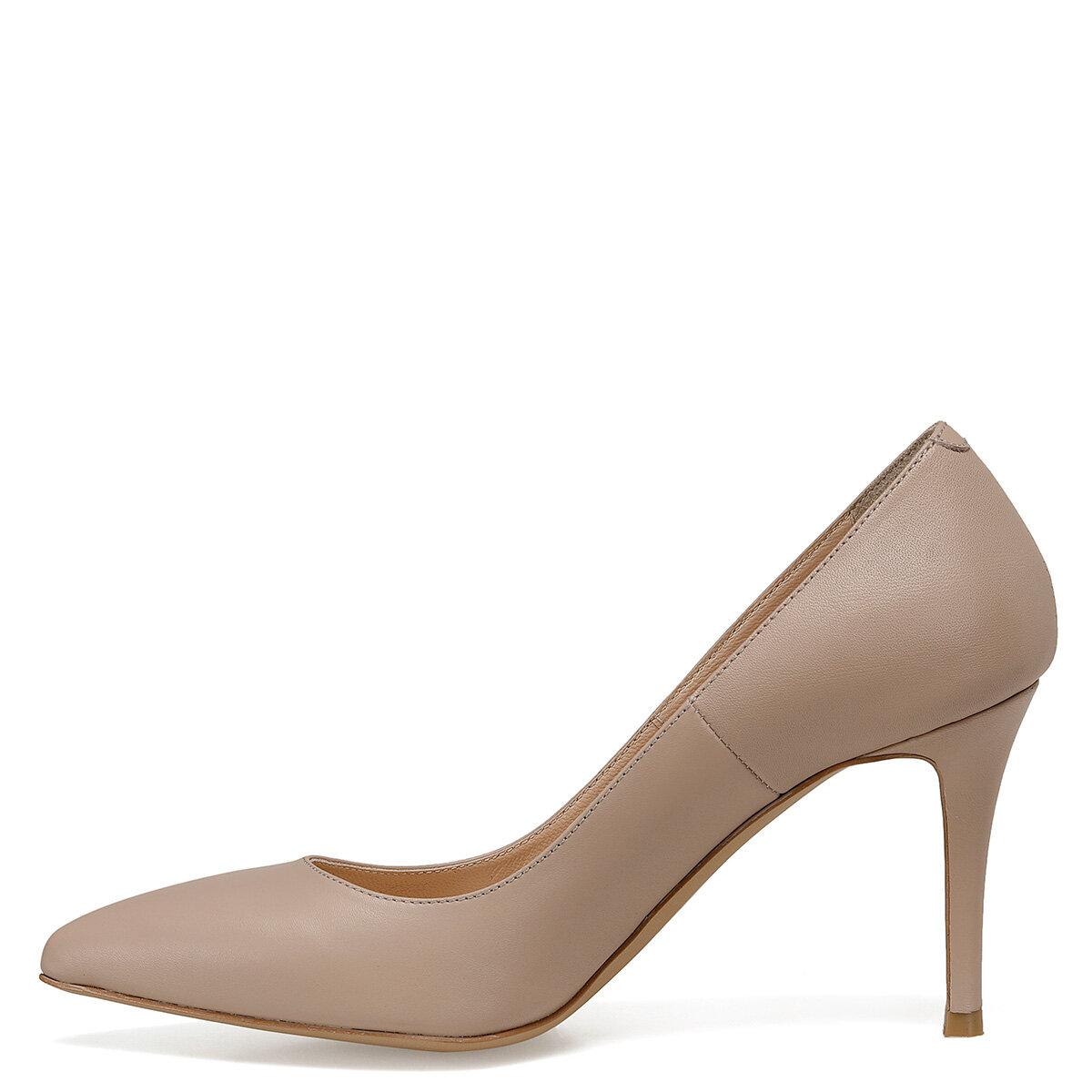 JACKIE Naturel Kadın Topuklu Ayakkabı