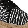 LONGHI2 Siyah Kadın Espadril Ayakkabı