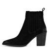 YASO Siyah Kadın Topuklu Bot