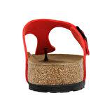 Birkenstock WB743553 Kırmızı Kadın Terlik