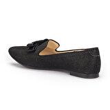 Polaris 71.309710.Z Siyah Kadın Loafer Ayakkabı