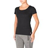 Kinetix BASIC  T-SHIRT Siyah Kadın T-Shirt