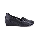 Polaris 71.155506.Z Siyah Kadın Klasik Ayakkabı