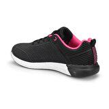 Kinetix DRAKE W Siyah Kadın Koşu Ayakkabısı