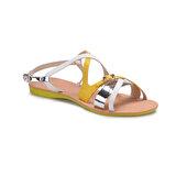 Art Bella RB002 Lame Kadın Sandalet