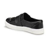 Seventeen SVF35 Siyah Kız Çocuk Slip On Ayakkabı