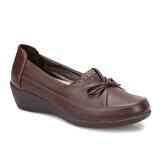 Polaris 72.158022.Z Kahverengi Kadın Comfort Ayakkabı