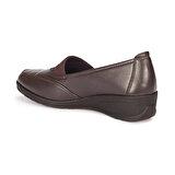 Polaris 72.158046.Z Kahverengi Kadın Comfort Ayakkabı