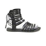 Art Bella CS18083 Siyah Kadın Sandalet