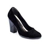 Polaris 82.312122SZ Siyah Kadın Gova Ayakkabı