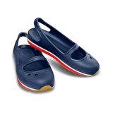 Crocs RETRO MARY JANE Lacivert Kız Çocuk Sandalet
