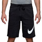 Nike M NSW CLUB SHORT EXP BB Siyah Erkek Uzun Şort