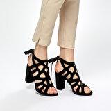 Butigo DS18045-19IY Siyah Kadın Gova Ayakkabı