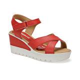 Polaris 91.308569.Z Kırmızı Kadın Sandalet