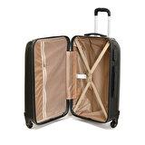 Travel Soft U MKN 6112-O Siyah Unisex Orta Valiz
