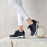 Butigo TARAT85Z CİLT Siyah Kadın Ayakkabı