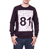Slazenger ST28WE021-400 Lacivert Erkek Sweatshirt