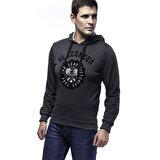 Slazenger ST28WE017-500 Siyah Erkek Sweatshirt