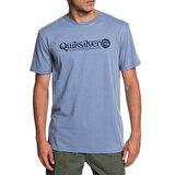 Quicksilver QUIKSILVER ARTTICKLESS M TEES Koyu Turkuaz Erkek T-Shirt