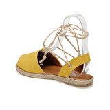 Butigo KAROLY51Z SÜET Sarı Kadın Espadril Ayakkabı