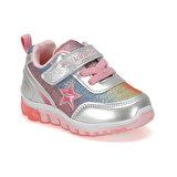 Kinetix SIMA 9PR Gümüş Kız Çocuk Yürüyüş Ayakkabısı