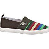 Kinetix 1232715 Haki Kadın Sneaker Ayakkabı