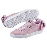 Puma SUEDE BOW UPRISING WN S Lila Kadın Sneaker Ayakkabı