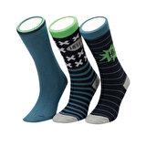 I Cool HELLOX 3 LU SKT-B YESIL MULTI Erkek Çocuk Soket Çorap