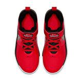 Nike TEAM HUSTLE D 9 (PS) Açık Kırmızı Unisex Çocuk Basketbol Ayakkabısı
