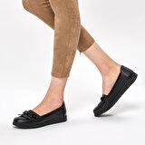 Polaris 92.158010.Z Siyah Kadın Loafer Ayakkabı