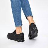 Kinetix NINA PU 9PR Siyah Kadın Sneaker Ayakkabı