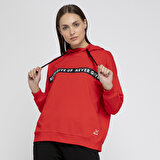Kinetix DIANA SWEAT Turuncu Kadın Sweatshirt