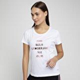 Lumberjack LOREN T-SHIRT Beyaz Kadın T-Shirt