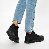 Kinetix OKA MID PU W 9PR Siyah Kadın Koşu Ayakkabısı
