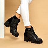 Butigo W099-19K Siyah Kadın Topuklu Ayakkabı