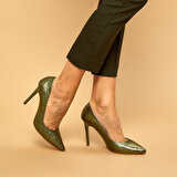 Butigo 19K-969 Yeşil Kadın Gova Ayakkabı