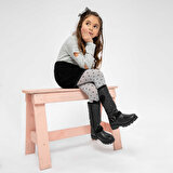 Kinetix SERIS 9PR Siyah Kız Çocuk Basic Casual Ayakkabı