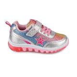 Kinetix SIMA 9PR Gümüş Kız Çocuk Sneaker Ayakkabı