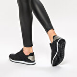 Art Bella CW17016-19W Siyah Kadın Sneaker Ayakkabı