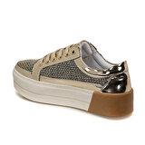 Butigo 19S-100 Altın Kadın Sneaker Ayakkabı