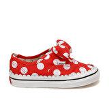 Vans TD AUTHENTIC GORE Kırmızı Kız Çocuk Kalın Tabanlı Sneaker
