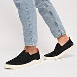 Kinetix MERDA Siyah Erkek Slip On Ayakkabı