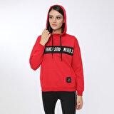 Kinetix IVONA SWEATSHIRT Kırmızı Kadın Sweatshirt