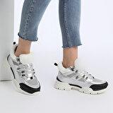 Kinetix VIDMORE KRK Gümüş Kadın Fashion Sneaker