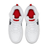 Nike COURT BOROUGH MID (P Beyaz Erkek Çocuk Yürüyüş Ayakkabısı