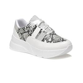 f9ca4581eacc9 YeniKargo Bedava KİBA01Z CİLT Beyaz Kadın Sneaker Ayakkabı