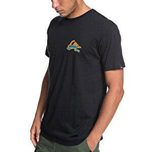 Quicksilver QUIKSILVER TATTEREDSS M TEES Siyah Erkek Çocuk T-Shirt