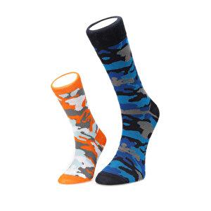 FİYAKA FYK108 BABA KIZ Saks Erkek Çorap
