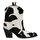 COWAN Siyah Kadın Topuklu Bot